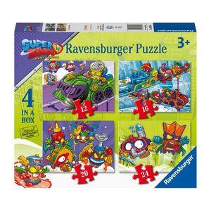 PUZZLE 4 EN 1 * SUPER ZINGS