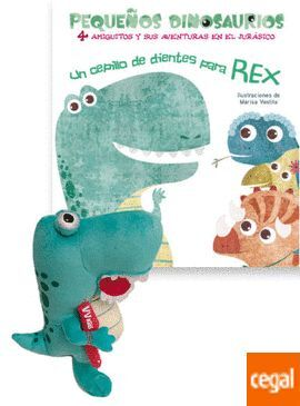 MUÑECO REX + CEPILLO DE DIENTES
