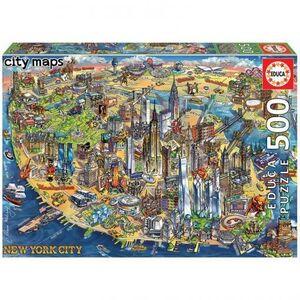 CITY MAPS 500 * MAPA DE NUEVA YORK