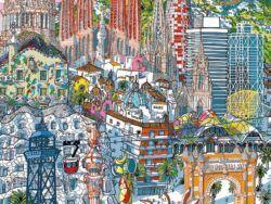 CITY PUZZLE 200 * BARCELONA