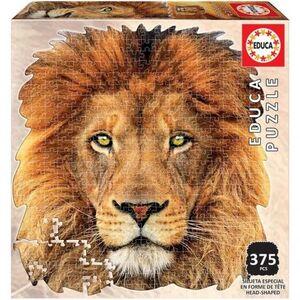 ANIMAL FACE SHAPED PUZZLE 375 * LEON