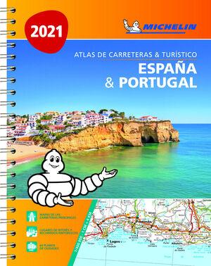 ATLAS ESPA¥A & PORTUGAL A4 (04460)