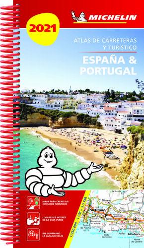 ATLAS ESPA¥A & PORTUGAL 2021 IBERICO (04464)