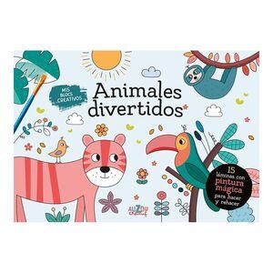 MIS BLOCS CREATIVOS ANIMALES DIVERTIDOS. PINTURA M