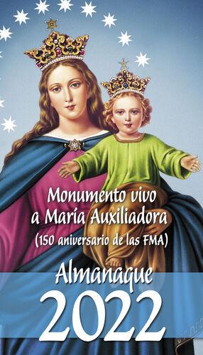 MONUMENTO VIVO A MARIA AUXILIADORA (150 ANIVERSARIO DE LAS FMA)