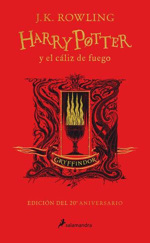HARRY POTTER Y EL CALIZ DE FUEGO (GRYFFINDOR) (ED.