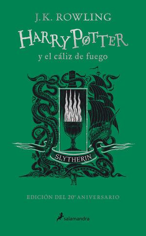 HARRY POTTER Y EL CALIZ DE FUEGO (SLYTHERIN) (ED.
