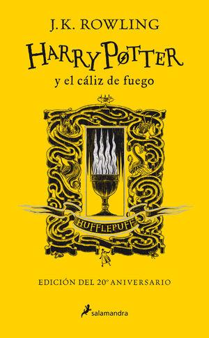 HARRY POTTER Y EL CALIZ DE FUEGO (HUFFLEPUFF) (ED.