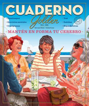 CUADERNO GOLDEN 1 - MANTEN EN FORMA TU CEREBRO