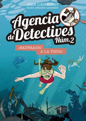 AGENCIA DE DETECTIVES NÚM. 2- 13. ¡NAUFRAGIO A LA