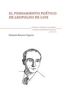 EL PENSAMIENTO POÉTICO DE LEOPOLDO DE LUIS