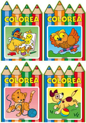 COLOREA (SURTIDO 4 TIT.)