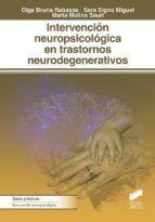 INTERVENCION NEUROPSICOLOGICA EN TRASTORNOS NEUROD
