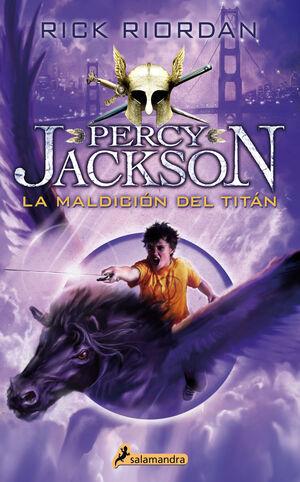 MALDICION DEL TITAN, LA - PERCY JACKSON Y LOS DIOS