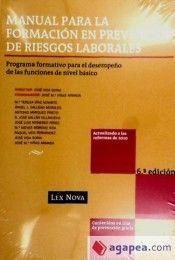 MANUAL PARA LA FORMACION EN PREVENCION DE RIESGOS LABORALES. PROGRAMA, FORMATIVO