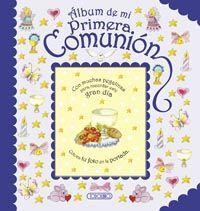 ALBUM DE MI PRIMERA COMUNION(AZUL)
