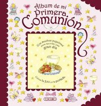 ALBUM DE MI PRIMERA COMUNION(ROSA)