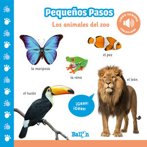 LOS ANIMALES DEL ZOO - PP LIBRO SONORO