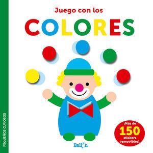 JUEGO CON LOS COLORES  P CURIOSOS STICK