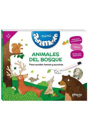 ANIMALES DEL BOSQUE - MINI ABREMENTE PARA ESCRIBIR